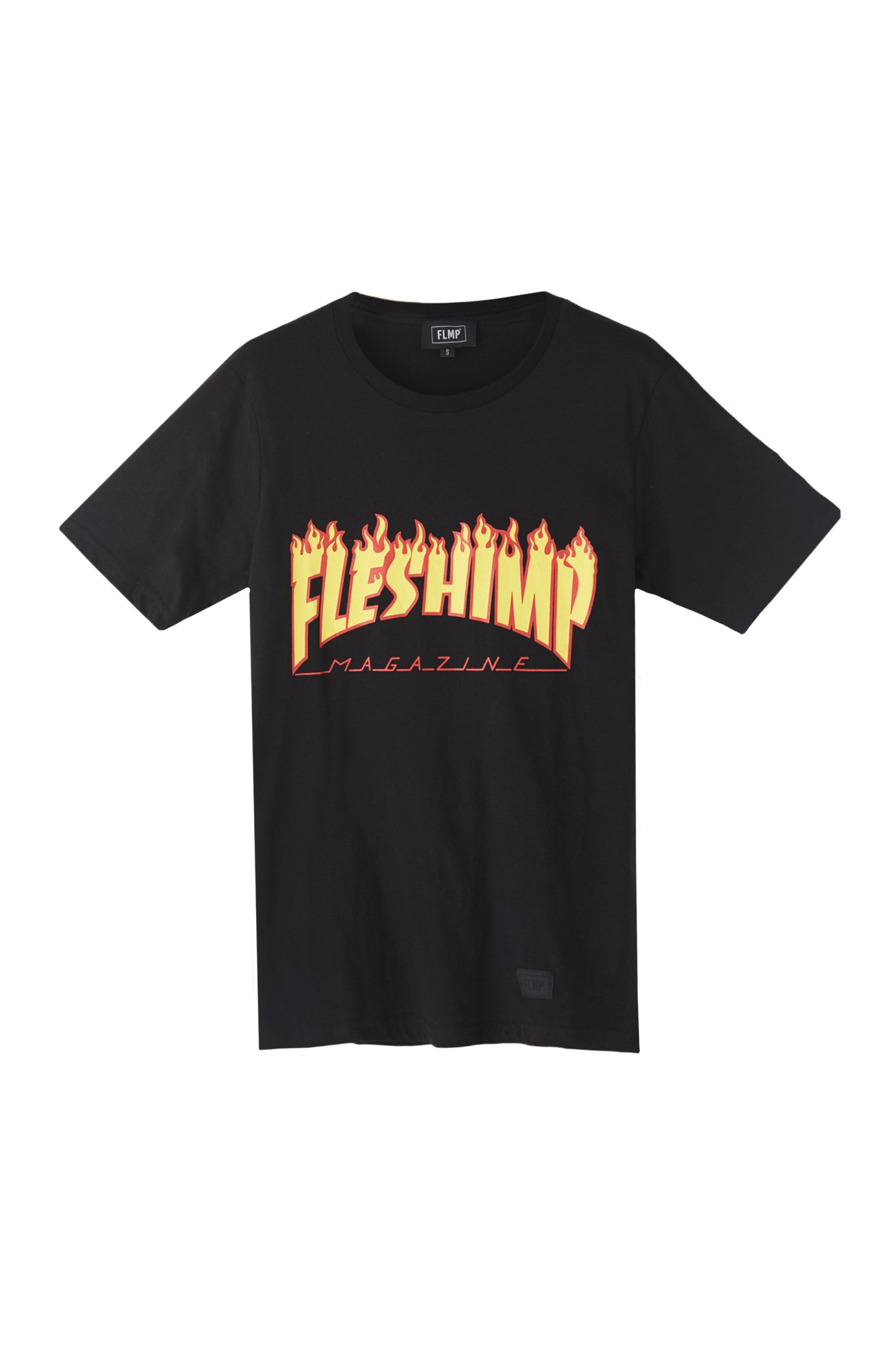 FHRASH BLACK T-SHIRT