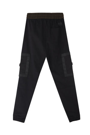 LOGAN BLACK JOGGER PANTS