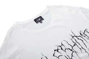 LIGHTNING WHITE T-SHIRT