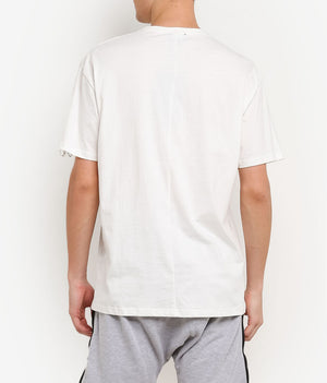 RING WHITE OVERSIZED T-SHIRT