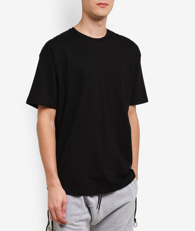 TAILS BLACK LONG T-SHIRT