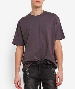 TAILS DARK GREY LONG T-SHIRT