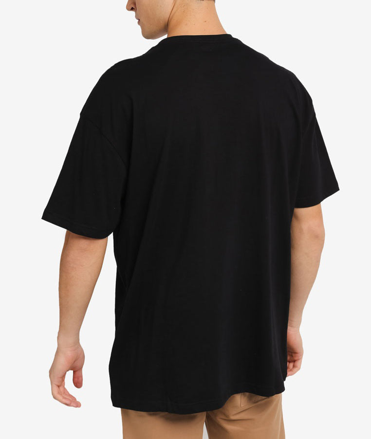 FORCE BLACK OVERSIZED TEE