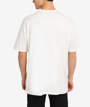 FORCE WHITE OVERSIZED TEE