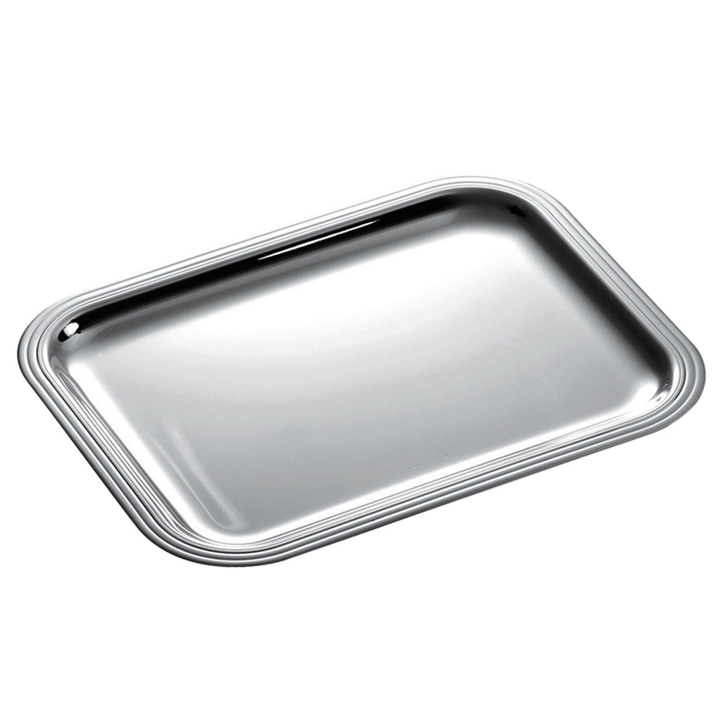 Christofle rectangular tray Large Albi rectangular yacht service tray