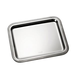 Christofle rectangular tray medium Malmaison rectangular yacht service tray