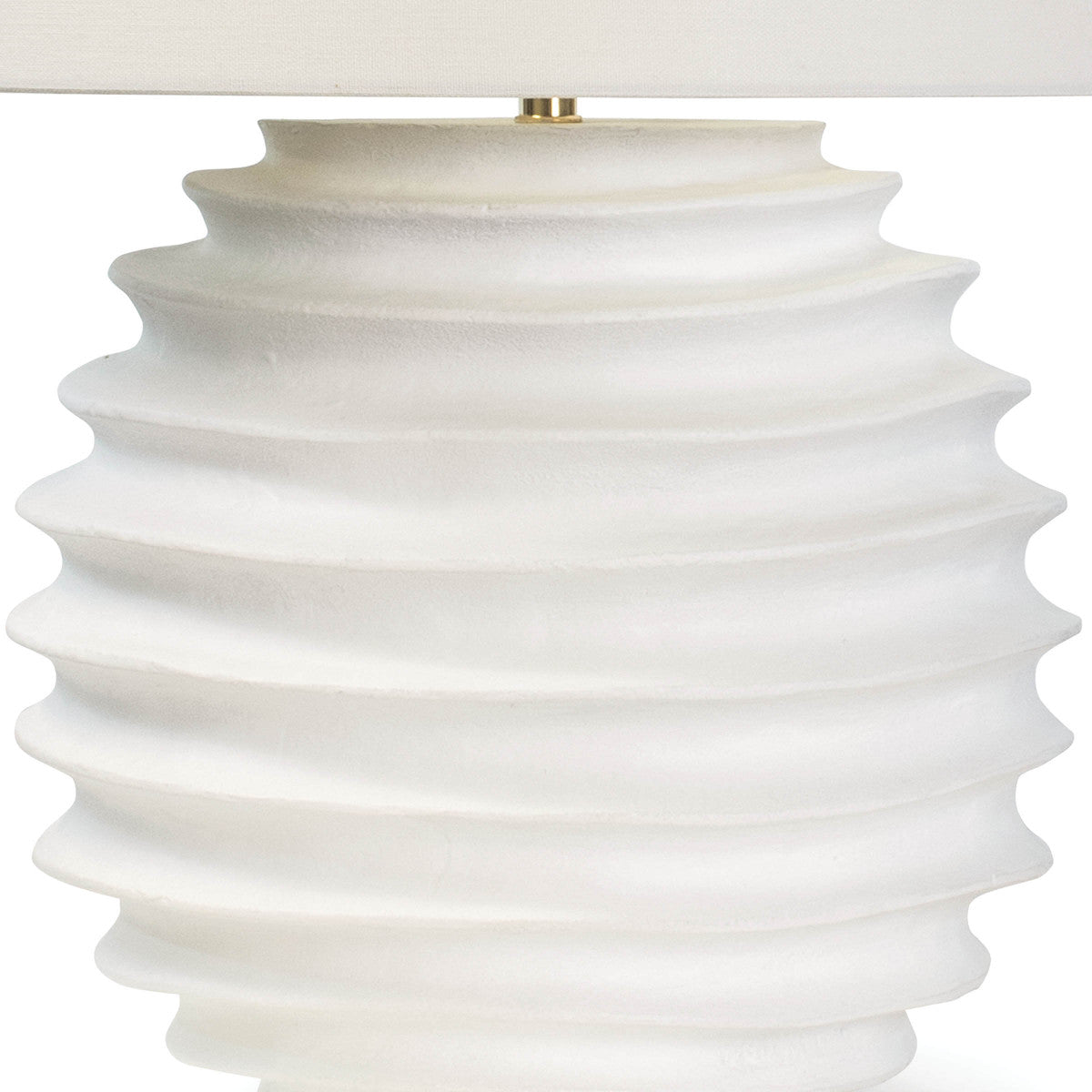 modern lamp, white lamp, modern coastal lamp, accordion lamp, modern beachy lamp