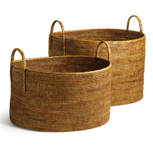 rattan woven basket rattan basket with handles large rattan basket Myanmar baskets