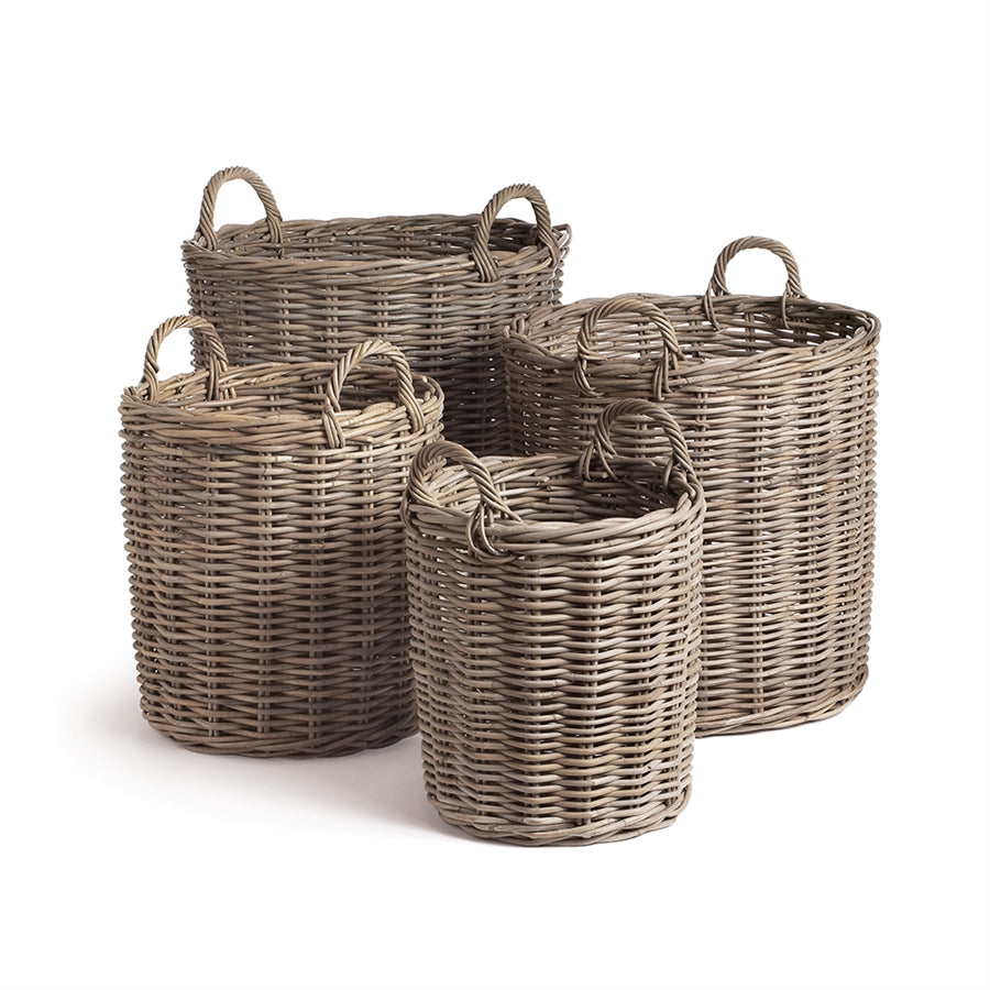 thick wood woven basket oversized basket with handles extra large basket chunky basket