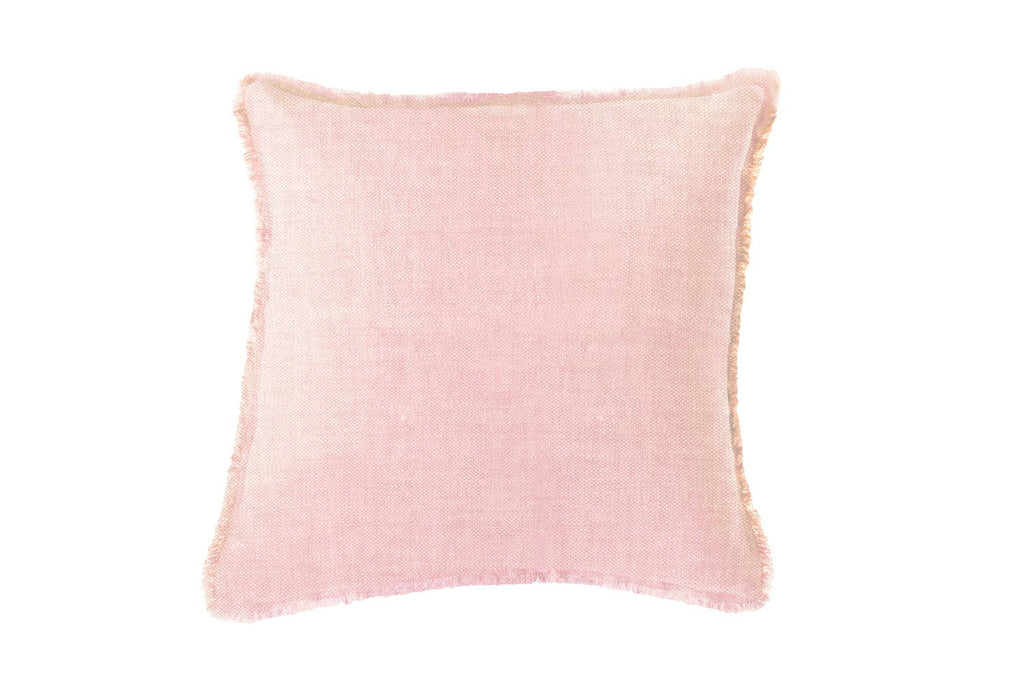 "Soft Linen Pillow Light Pink 20""x20"""