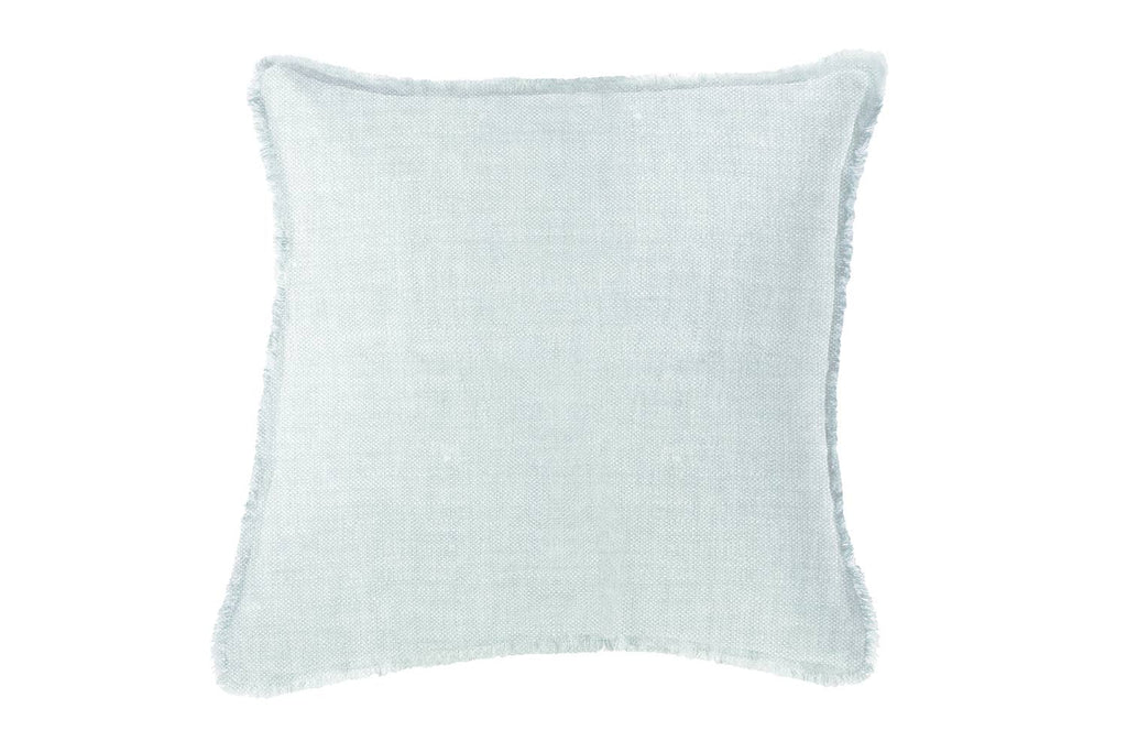 "Soft Linen Pillow Light Blue 20""x20"""