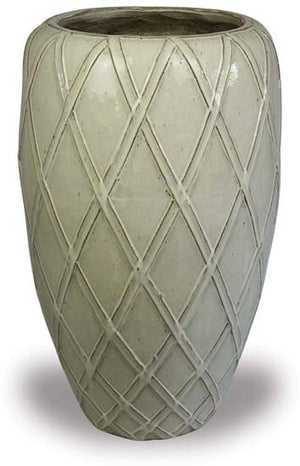 Palm Beach Lattice Tall Planter