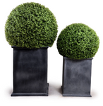 UV safe faux boxwood topiary outdoor safe boxwood ball outdoor boxwood topiary UV safe