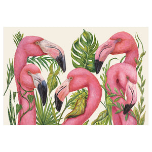 Pink Flamingos Placemat (24pk)