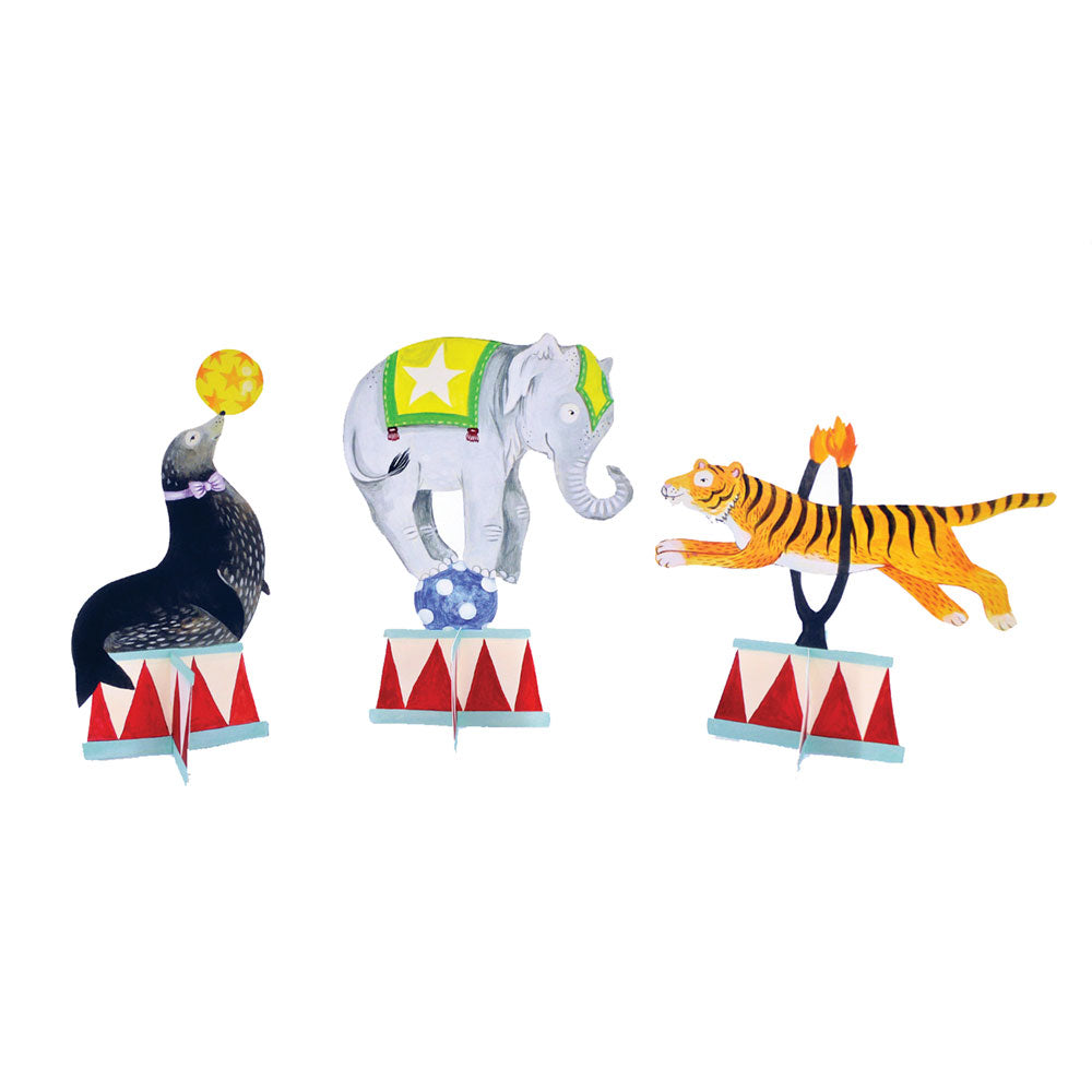 Circus Animal Table Accents (6pk)