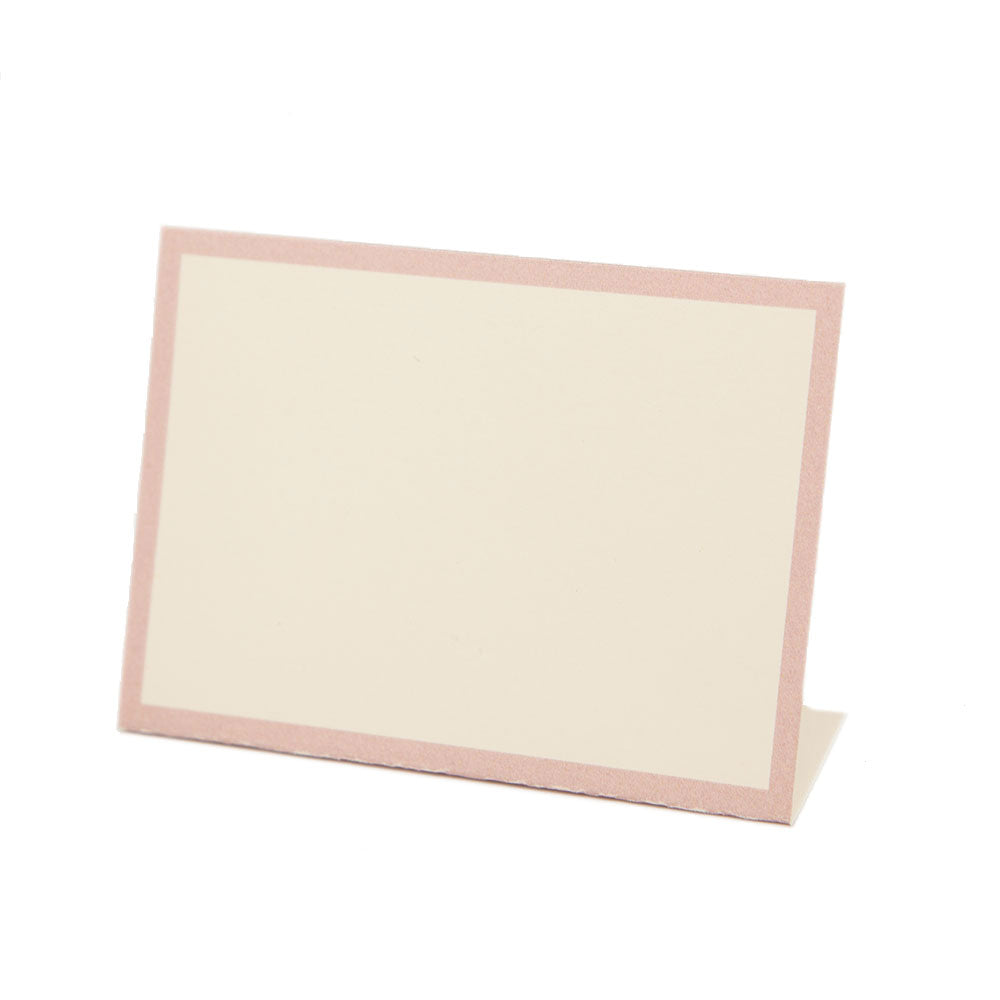 Classic Place Cards Pink (12pk)