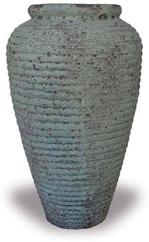 Baltic Tall Ribbed Urn