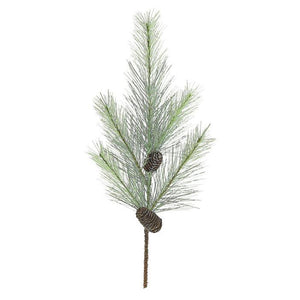 Faux Blue Spruce Branch 26""