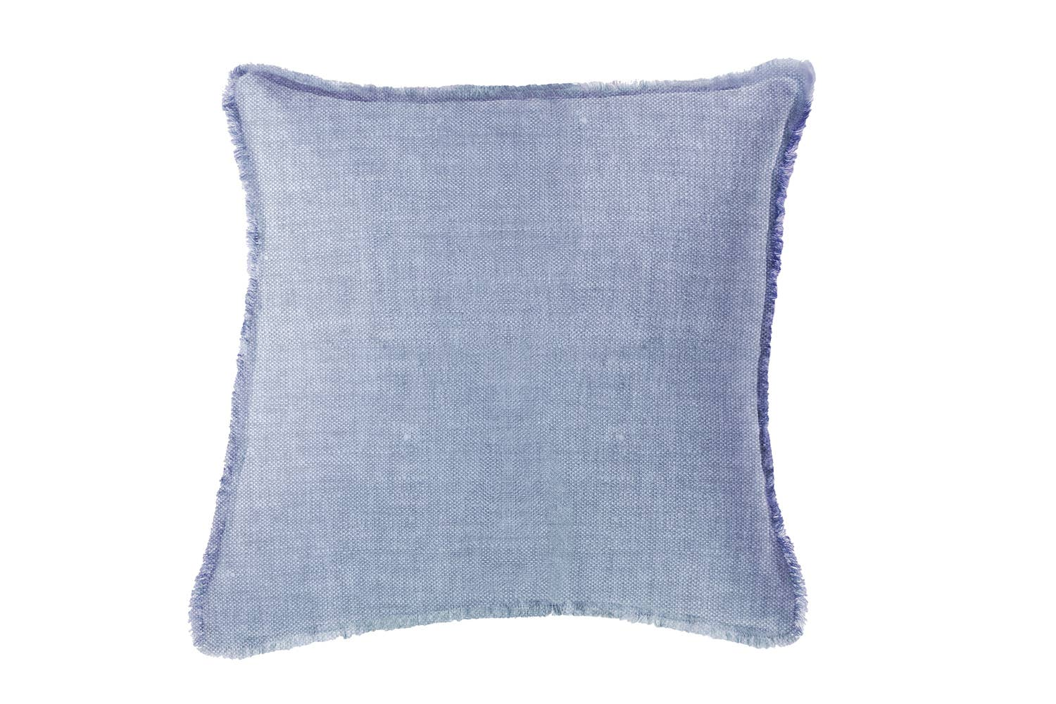 "Soft Linen Pillow Chambray Blue 20""x20"""