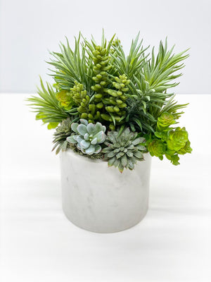 Faux succulent garden artificial succulent arrangement faux mixed succulent