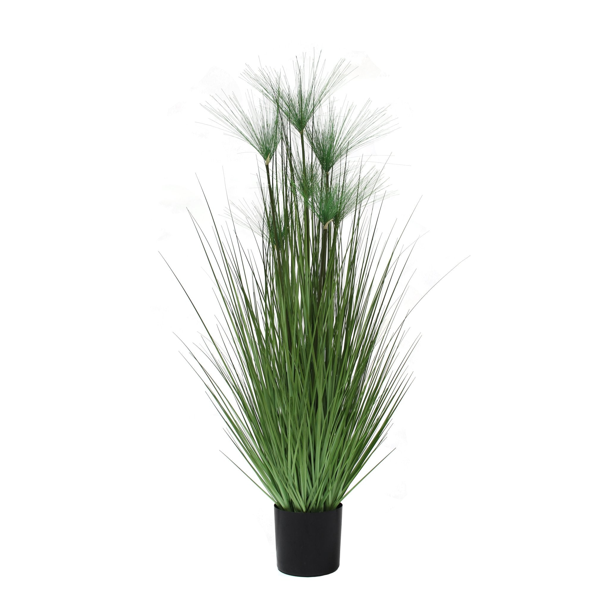 artificial grass plant tall faux grass papyrus grass 5'