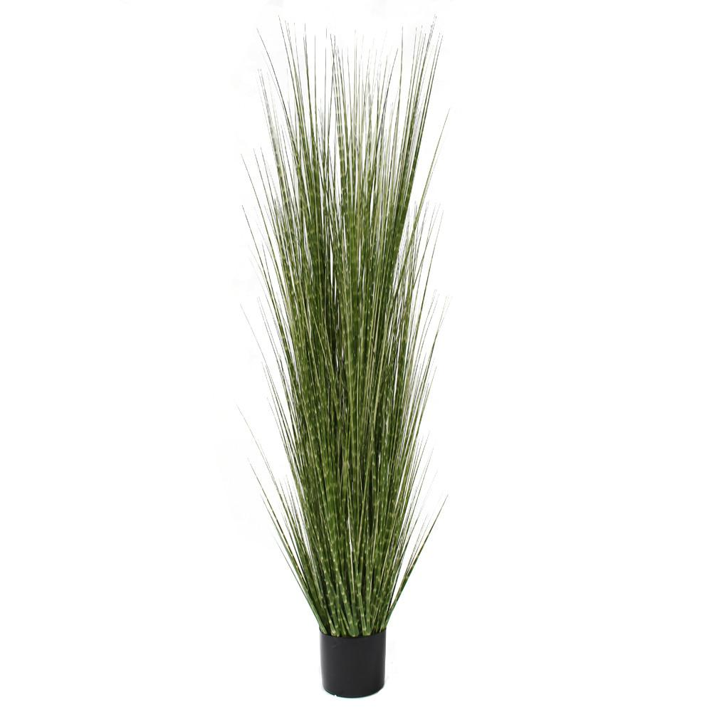 artificial grass plant tall faux grass spotted grass
