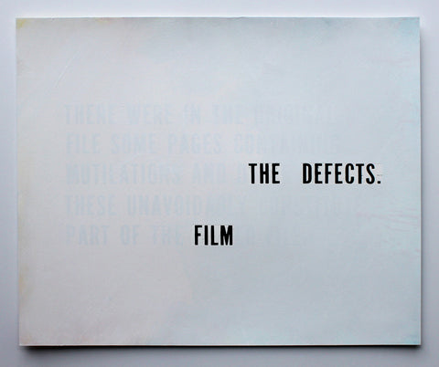 Redaction Variations (The Tehran Times - FILM THE DEFECTS)