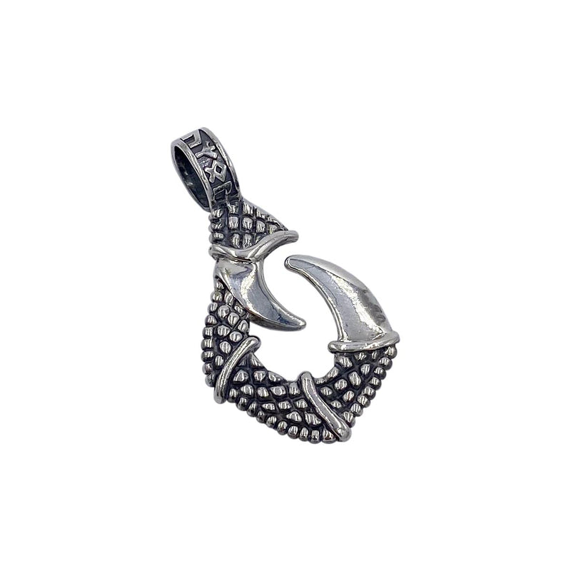 Dragon Claw on Small Medieval Chain