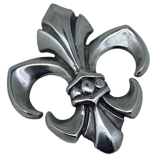 Fleur de Lis on Small Medieval Chain