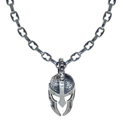 Spartan Mask on Medium Medieval Chain