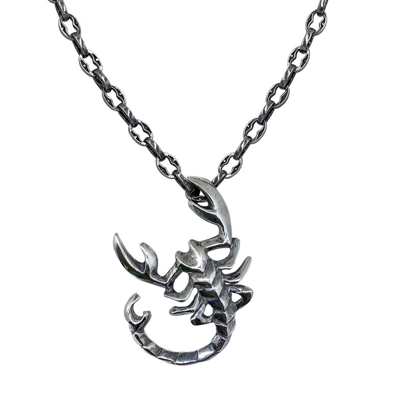 Scorpio on Small Medieval Chain Necklace