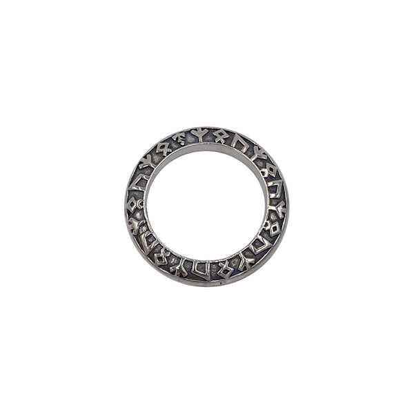 Rune Ring with Bale on Extra Small Chain