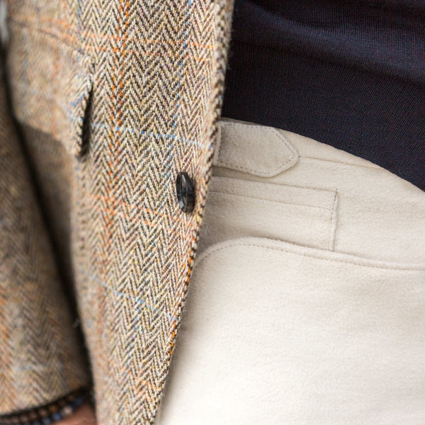 NEW TAILOR - Broek, Off White, Moleskin, Brisbane Moss, Broek | NEW TAILOR Webshop