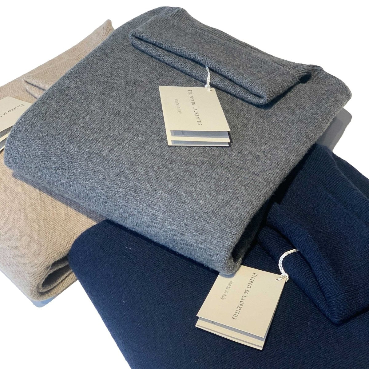 Filippo de Laurentis - Coltrui, Navy, Knitwear | NEW TAILOR Webshop