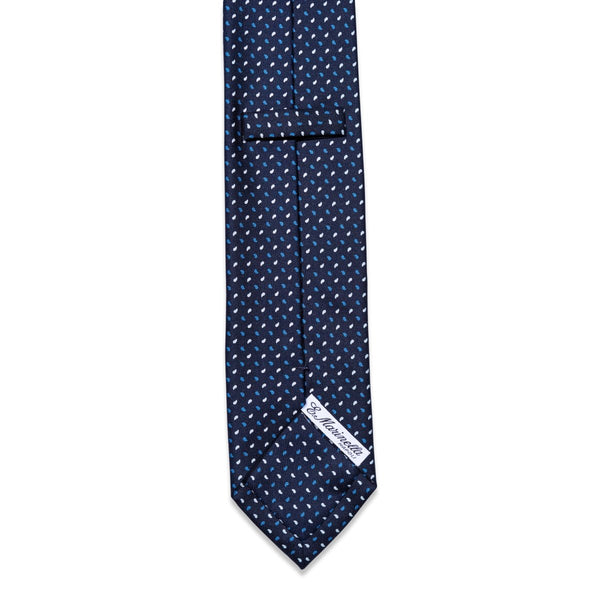 E.Marinella - Das, Dark Blue & White Pattern, Dassen | NEW TAILOR Webshop