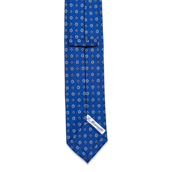 E.Marinella - Das, Royal Blue Pattern, Dassen | NEW TAILOR Webshop