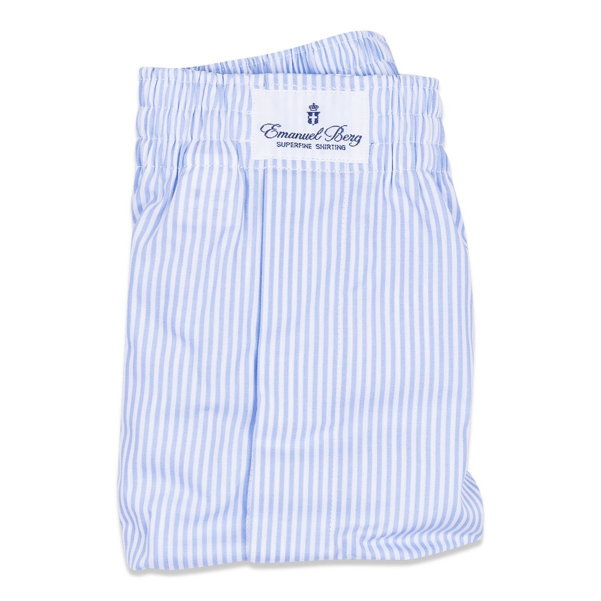 Ondergoed, Blue Striped Boxer - NEW TAILOR Webshop