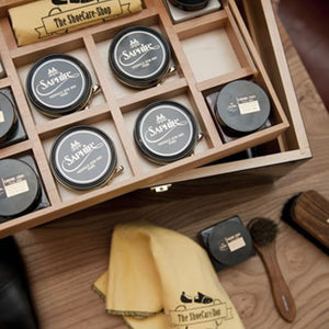 The ShoeCare-Shop - Schoenpoetskist Distinctivo Saphir, Onderhoud | NEW TAILOR Webshop