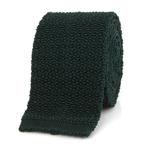 Das, Tartan Green Knitted Silk Solid Colour - NEW TAILOR | Webshop