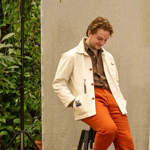 NEW TAILOR - The Worker Jacket, Eco Cotton, Worker Jacket | NEW TAILOR Webshop