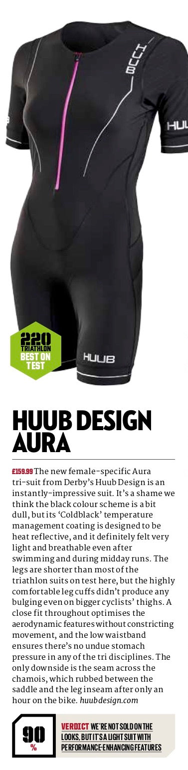 Aura Long Course Tri Suit