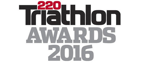220 Triathlon Awards 'Best Triathlon Wetsuit Brand', the 'Best Tri-Suit Brand'