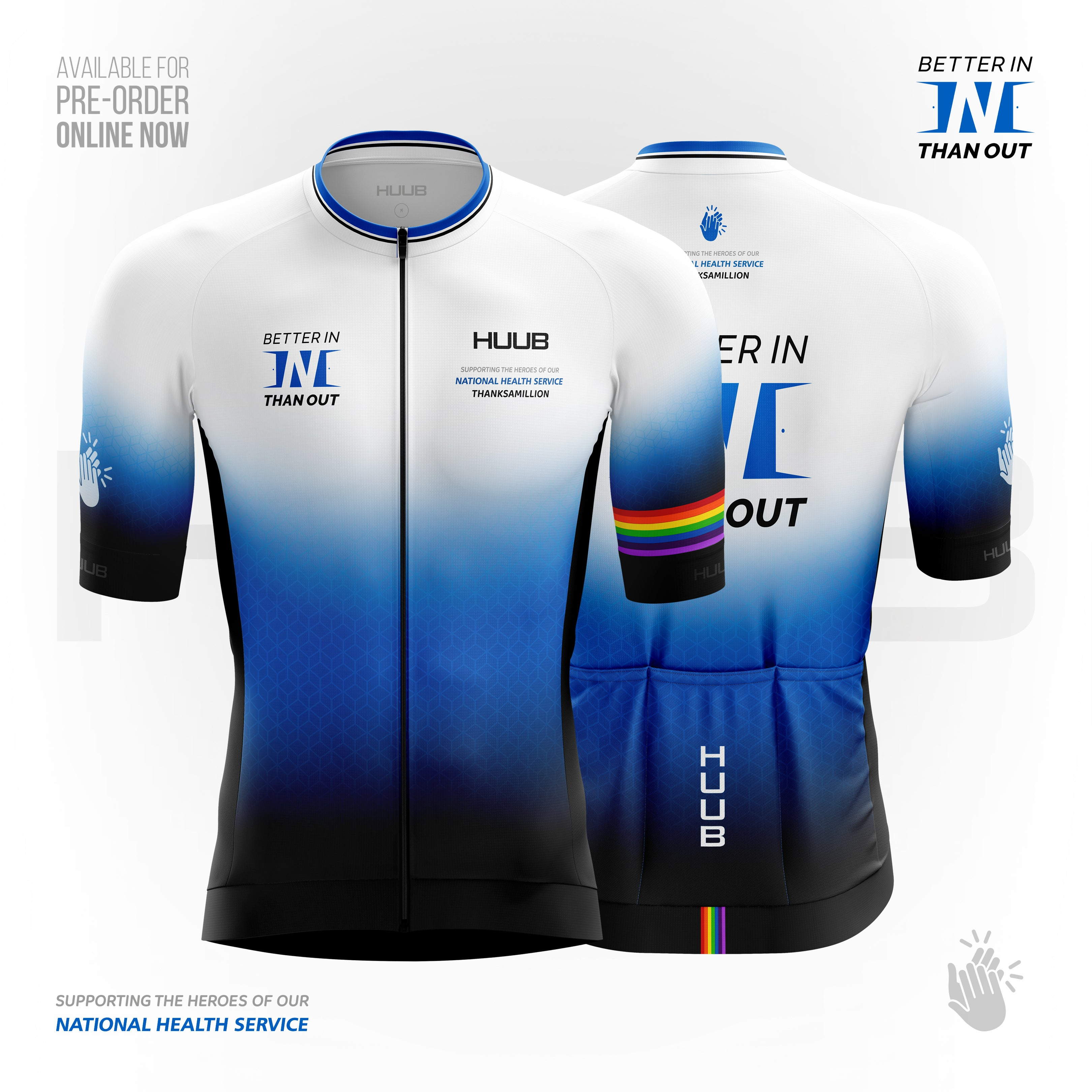 Better In Than Out - NHS - Cycling Jersey
