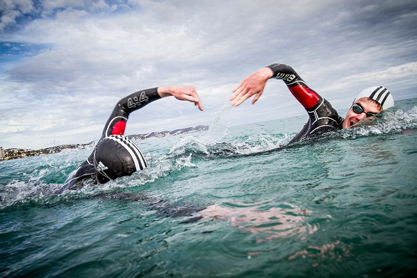 Open Water Swimming In The Sea