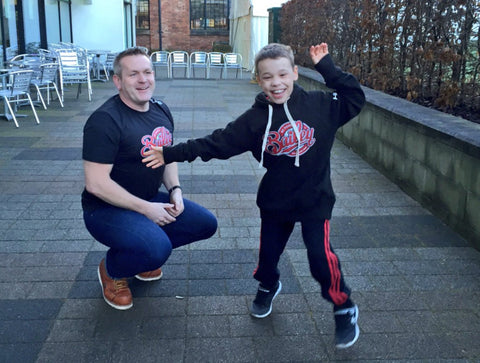 Dean Jackson and Bailey Matthews launch their two triathlons being held in Derby this year