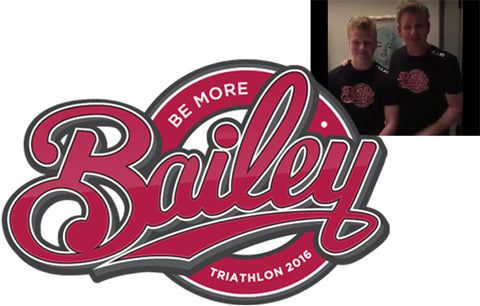 Gordon Ramsay lends his support for the Be More Bailey Triathlon in Derby in July 2016