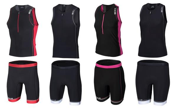 HUUB Core Tri Tops and Shorts two piece combo