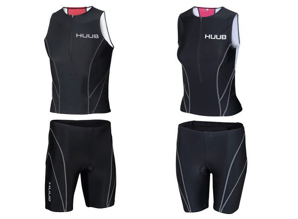 HUUB Essential tops and shorts for triathlon