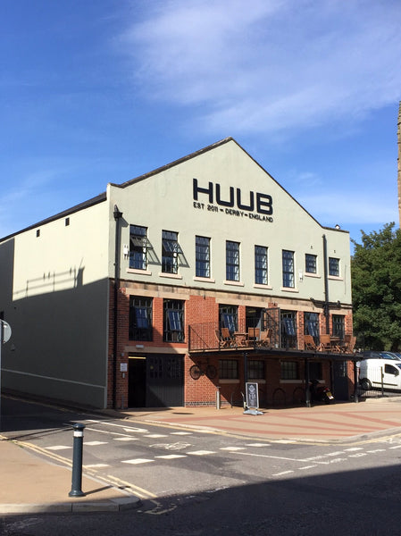HUUB's new headquarters in the centre of Derby