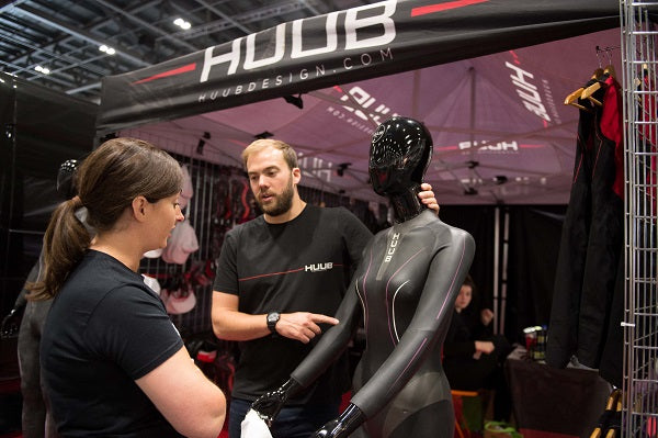 HUUB have a stand at the London Triathlon this weekend